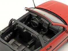 Volkswagen VW Golf Cabriolet year 1995 red 1:18 Norev