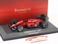 Gerhard Berger Ferrari F1 87 #28 Formel 1 1987 1:43 Atlas