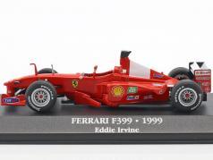 Eddie Irvine Ferrari F399 #4 formule 1 1999 1:43 Atlas