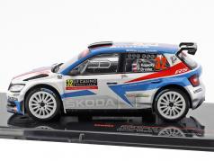 Skoda Fabia R5 #32 Winner WRC2 Rallye Monte Carlo 2018 Kopecky, Dresler 1:43 Ixo