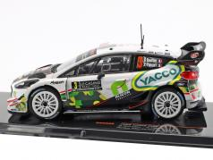 Ford Fiesta WRC #3 8th Rallye Monte Carlo 2018 Bouffier, Panseri 1:43 Ixo