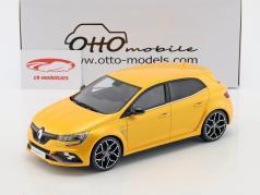 Renault Megane RS Baujahr 2017 gelb metallic 1:18 OttOmobile