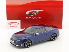 Audi RS5 coupe year 2017 navarra blue 1:18 GT-Spirit