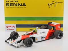 Ayrton Senna McLaren MP4/4 #12 World Champion formula 1 1988 1:12 Minichamps