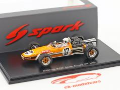 Sam Tingle Brabham BT24 #17 Sudafrica GP formula 1 1969 1:43 Spark