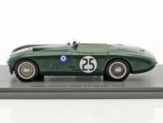 Aston Martin DB3 #25 24h LeMans 1952 Macklin, Collins 1:43 Spark