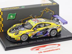 Porsche 911 GT3 R  #77 9th FIA GT Cup Macau 2017 Hiroki Yoshimoto 1:43 Spark