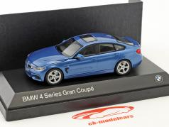 BMW 4er 4 Series (F36) Gran Coupe blue 1:43 Kyosho