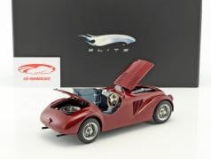 Ferrari 125 S High End Super Elite Special Edition année de construction 1947 rouge-brun 1:18 HotWheels Elite