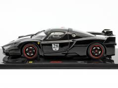 Ferrari FXX #28 year 2006 black with Italian flag 1:43 HotWheels Elite