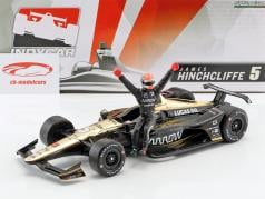 James Hinchcliffe Honda #5 IndyCar Series 2018 avec figure 1:18 Greenlight