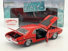 Dodge Challenger R/T année de construction 1970 Série TV Hawaii Five-O (depuis 2010) rouge 1:18 Greenlight