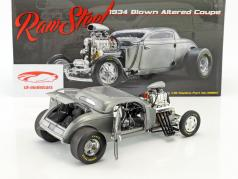 Blown Altered Coupe année de construction 1934 raw steel 1:18 GMP