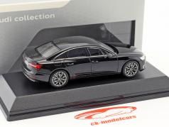 Audi A6 C8 limousine myth black 1:43 iScale
