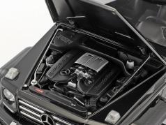 Mercedes-Benz G-Klasse G500 4x4² Baujahr 2016 schwarz glänzend 1:18 AUTOart