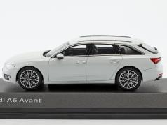 Audi A6 Avant glacier blanc 1:43 iScale
