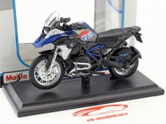 BMW R 1200 GS year 2017 black / blue 1:18 Maisto
