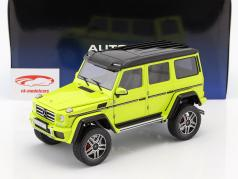 Mercedes-Benz G-Klasse G500 4x4² year 2016 yellow 1:18 AUTOart