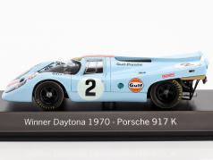 Porsche 917K #2 gagnant 24h Daytona 1970 Rodriguez / Kinnunen / Redman 1:43 Spark