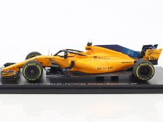Fernando Alonso McLaren MCL33 #14 5th Australien GP Formel 1 2018 1:43 Spark