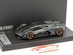 Lamborghini Terzo Millennio natte gris 1:43 LookSmart