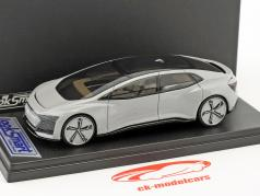 Audi Aicon Concept Car silver gray metallic 1:43 LookSmart