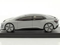 Audi Aicon Concept Car gris argenté métallique 1:43 LookSmart