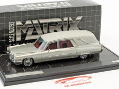 Cadillac Superior Crown Sovereign Landaulet funérailles voiture année de construction 1970 argent métallique 1:43 Matrix