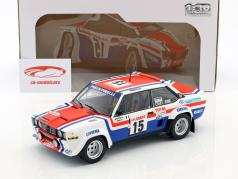 Fiat 131 Abarth #15 5th Tour de Corse 1980 Mouton, Arrii 1:18 Solido