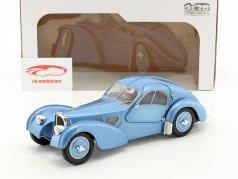 Bugatti Type 57 SC année de construction 1938 bleu clair métallique 1:18 Solido