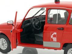Renault 4 GTL Feuerwehr rot 1:18 Solido