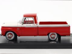 Ford F-100 Pick-Up anno di costruzione 1965 rosso / bianco 1:43 Goldvarg
