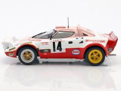 Lancia Stratos HF #14 6th Rallye Monte Carlo 1977 Dacremont, Galli 1:18 Solido