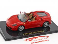 Ferrari F430 Spider red with showcase 1:43 Altaya