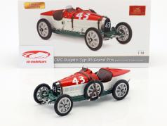 Bugatti Type 35 Grand Prix #43 Nation Colour Project Hungary 1:18 CMC