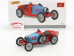 Bugatti Type 35 Grand Prix #10 Nation Colour Project Chile 1:18 CMC