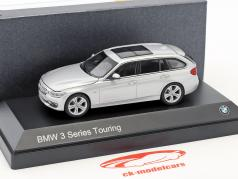 BMW Serie 3 Touring (F31) anno 2012 argento 1:43 Paragon Models
