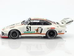 Porsche 935 #51 2nd Bergischer Löwe Zolder DRM 1977 Bob Wollek 1:18 Norev