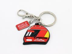 Michael Schumacher Portachiavi casco 2000 rosso