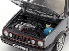 Volkswagen VW Golf II GTI anno di costruzione 1990 grigio metallico 1:18 Norev