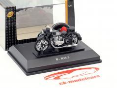 BMW B-R25/3 nero / argento 1:43 Cararama