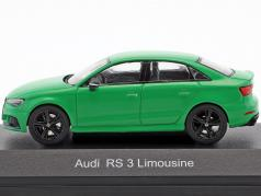 Audi RS 3 Limousine vert 1:43 iScale