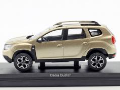 Dacia Duster anno di costruzione 2018 dune beige metallico 1:43 Norev