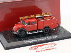 Magirus Deutz Mercur Feuerwehr Solingen rot 1:72 Atlas
