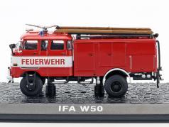 IFA W50 Feuerwehr TLF 16 Baujahr 1968 rot 1:72 Atlas
