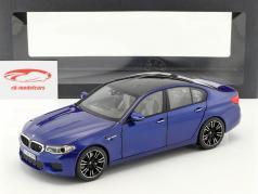 BMW M5 limousine (F90) marina bay blue 1:18 Norev