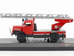 IFA S4000 DL fire Department with ladder red 1:43 Ixo