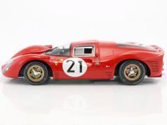 Ferrari 330 P4 #21 2 24h LeMans 1967 Scarfiotti, Parkes 1:12 CMR
