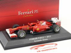 Fernando Alonso Ferrari F2012 #5 Formel 1 2012 1:43 Atlas