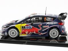 Ford Fiesta WRC #1 gagnant Tour de Corse 2018 Ogier, Ingrassia 1:43 Ixo